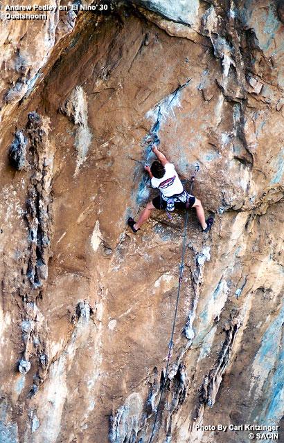 Andrew Pedley on El Nino 30 Oudtshoorn