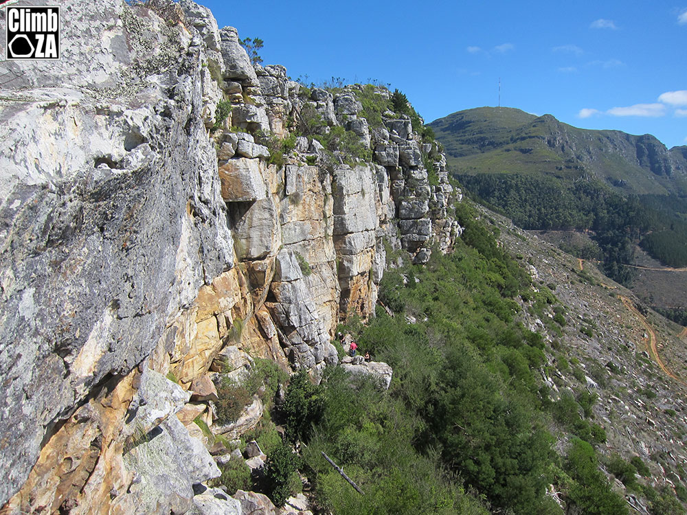 Lower Silvermine Crag, Cape Town