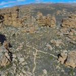 truitjieskraal areial view cederberg