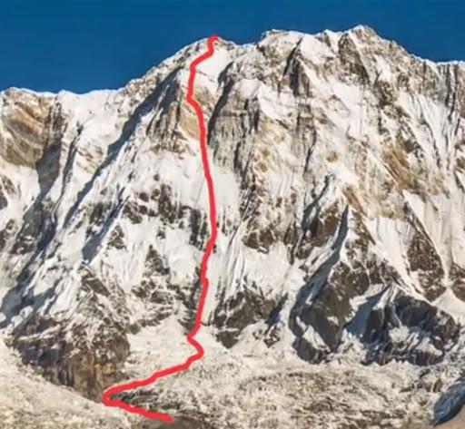 ueli steck solo route annapurna