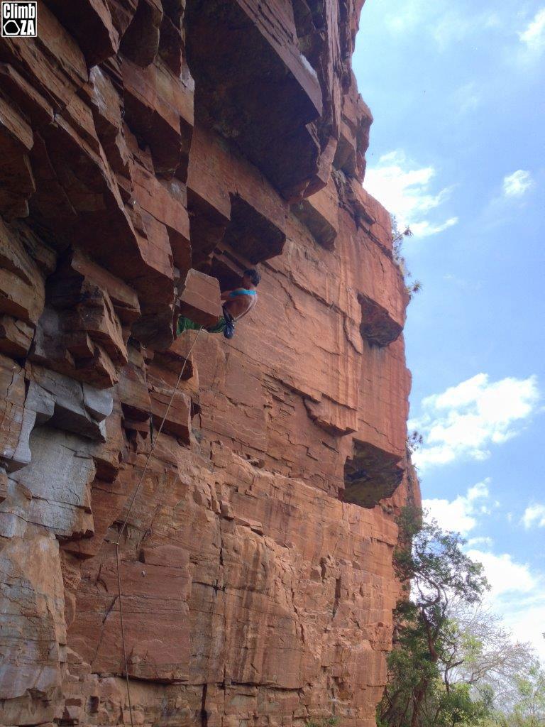 Waterval Boven rock climbing