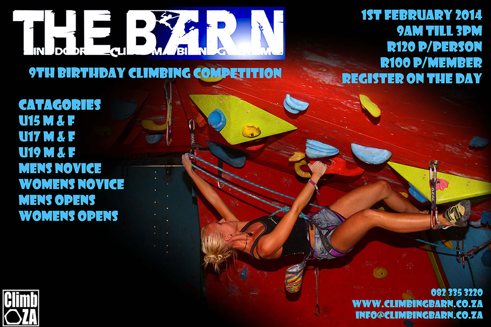 Climbing Barn Climbing competition 2014