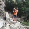Kirk Falls rock climbing