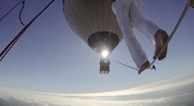 balloon highline