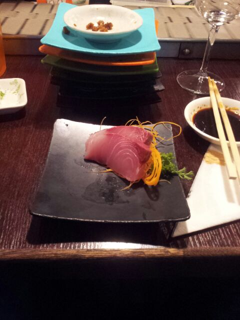 Yellow Fin Tuna Sashimi