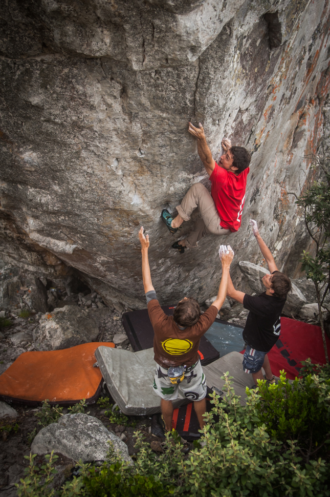 Lonely Boy (7B+)