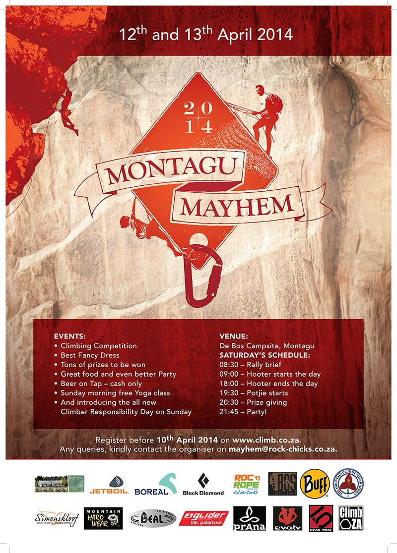 Montagu Mayhem Rock Rally poster