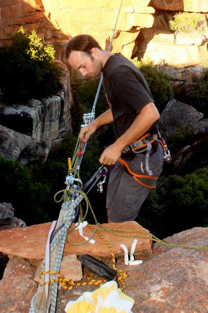 South Africa Highline Meeting 2014, Rocklands