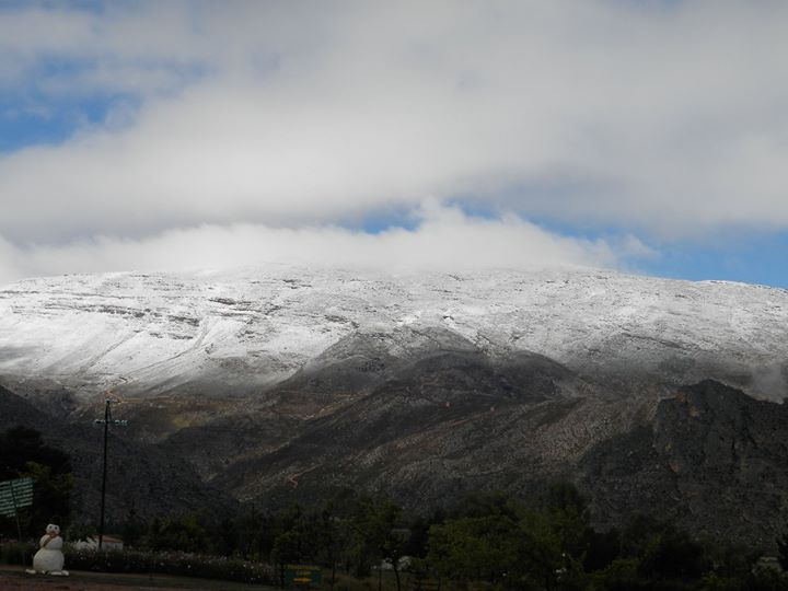 Matroosberg snow