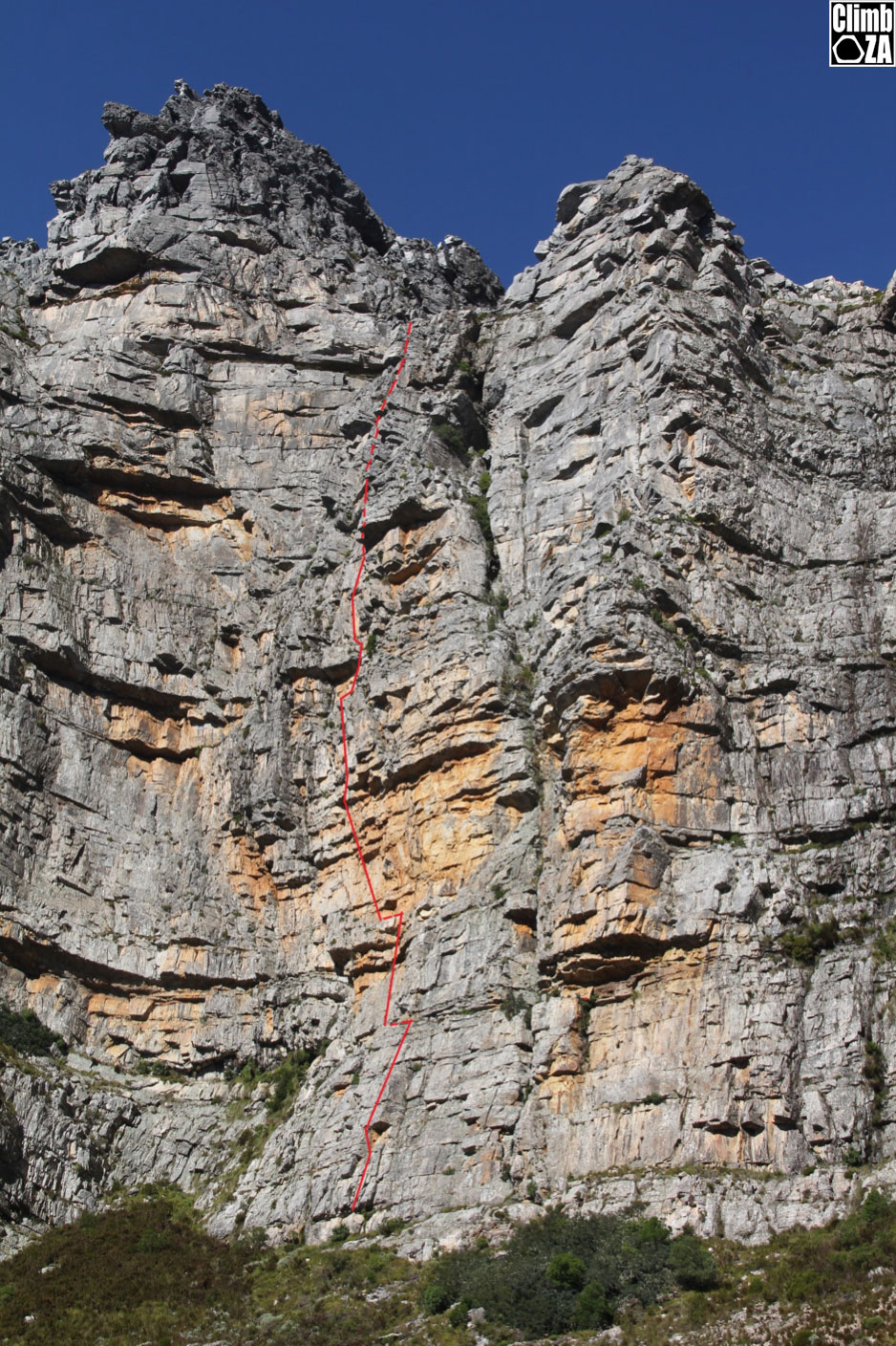A Near Perfect Trad Route