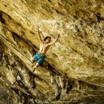 Adam Ondra's onsight of Il Domani