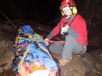 Paramedic stretcher resuce hoist