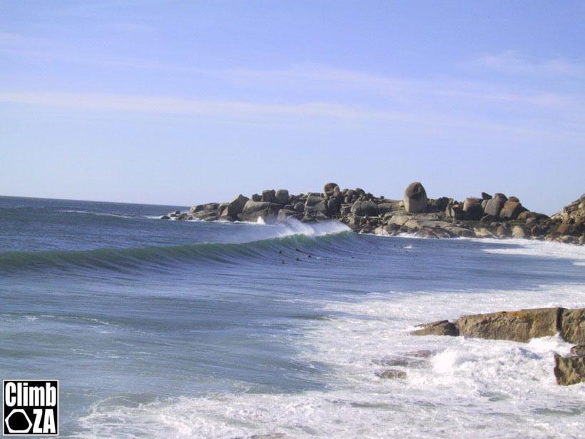 Surfing Lluandudno