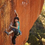 Brian Weaver on Overlord (8b/+). Photo by Zele Angelides