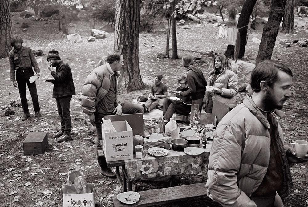 Camp 4 1968  ph Glen Denny
