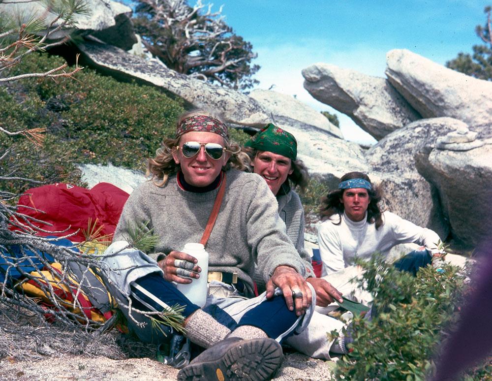 John Bachar, Mike Graham, Ron Kauk El Capitan