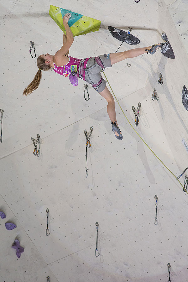 IFSC Lead Climbing World Cup Imst 2014