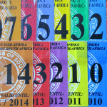 MCSA Membership Card stickers