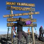 Scout Sibusiso Vilane summited Kilimanjaro