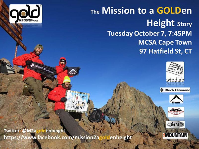 Mission to a GOLDen height