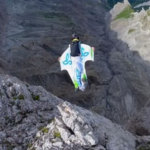 Steph Davis wingsuit
