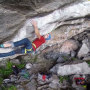 Joe Kinder at Flatanger Cave, Norway.