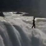 Victoria Falls Slackline