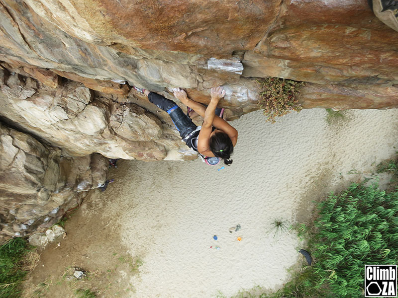 crossover rock climbing