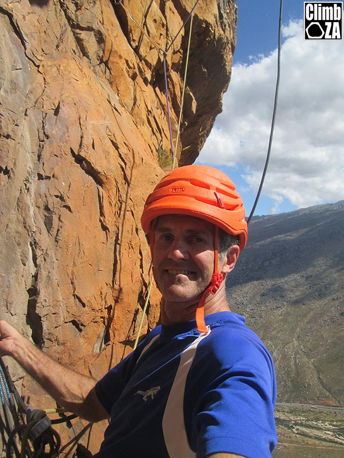 New climbing route Du Toit's Kloof