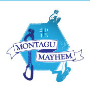 Montagu Mayhem Rock Rally logo