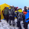 Everest basecamp injured carry