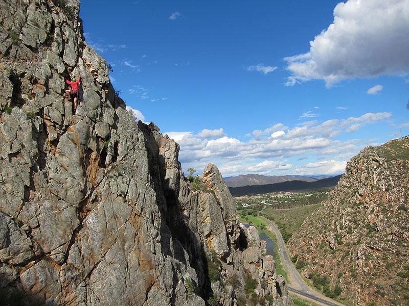 Montagu Climbing at Bold & Beautiful