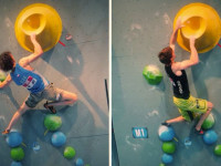 Comparison of top male climbers
