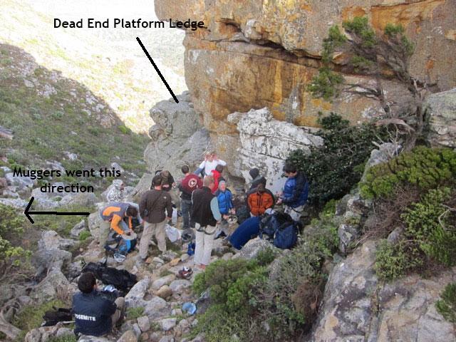 Hout Bay Mountain Mugging