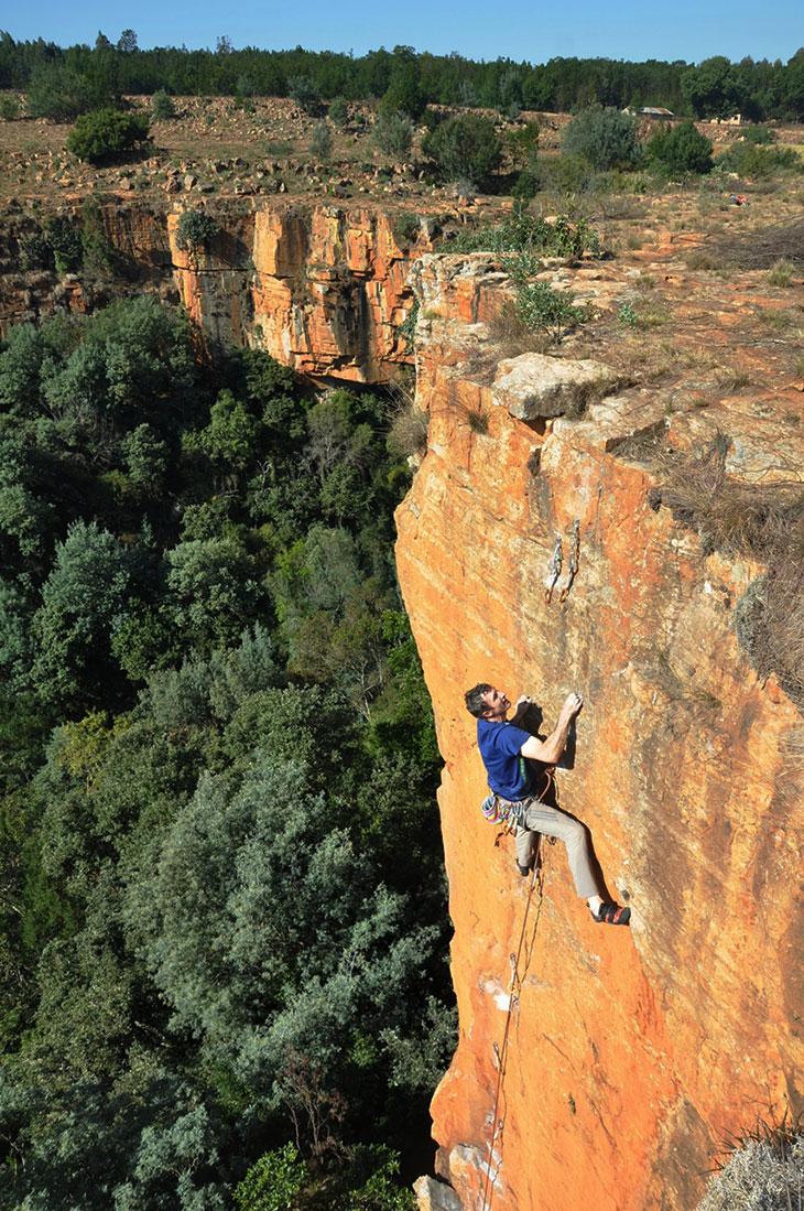 Mayhem Crag, South Africa