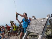 Scott Jurek Celebrates a New Appalachian Trail Thru-Hike Speed Record