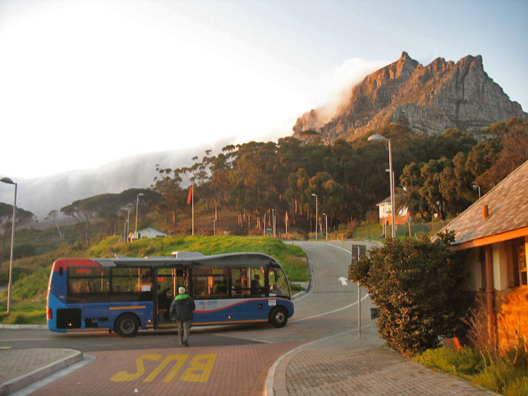 MyCiTi bus Table Mountian Cable Car