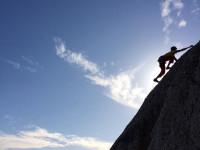 Granite climbing Boulders ocean