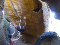 Bouldering physio, told me I must not do