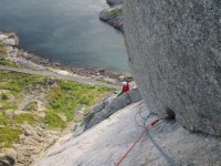 Norway Rock Climbing