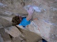 Oman rock climbing