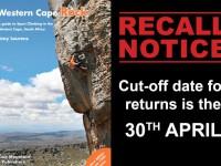 western cape book recall