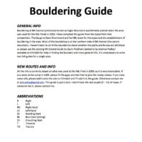 Mt Everest Bouldering Guide