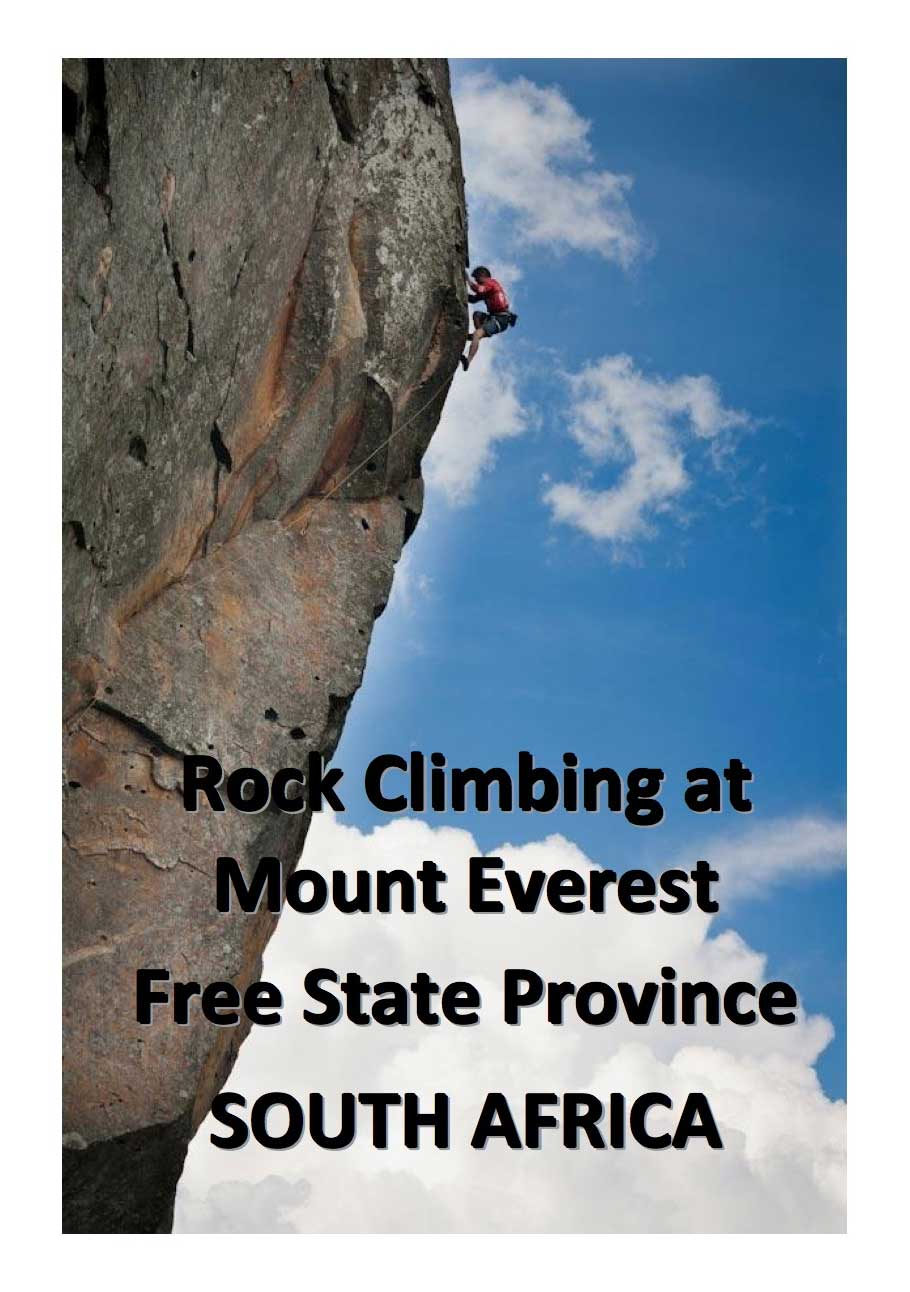 Rock Climbing at Mount Everest, Free Sate Province, South Africa
