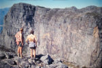 Don Hartley and Brian Honey first sight of Duiwelskloof walls