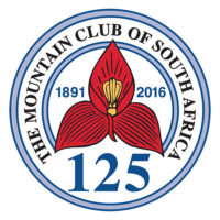 Mountain Club of South Africa Logo 125 years