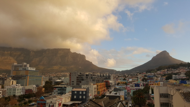 This was the view from the balcony of our place in Cape Town, not bad!