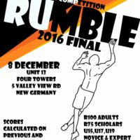 Rumble Southern Rock Climbing Gym