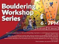 Bouldering workshop