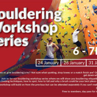 Bouldering workshop